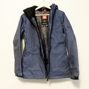 686 Winter Jacket Blue Size Small